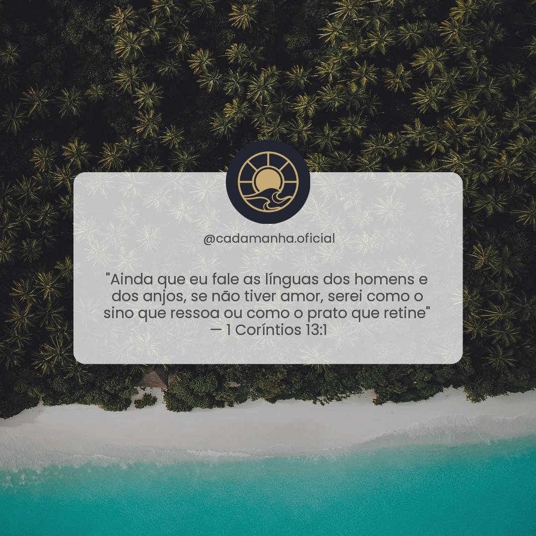 1 Coríntios 13:1