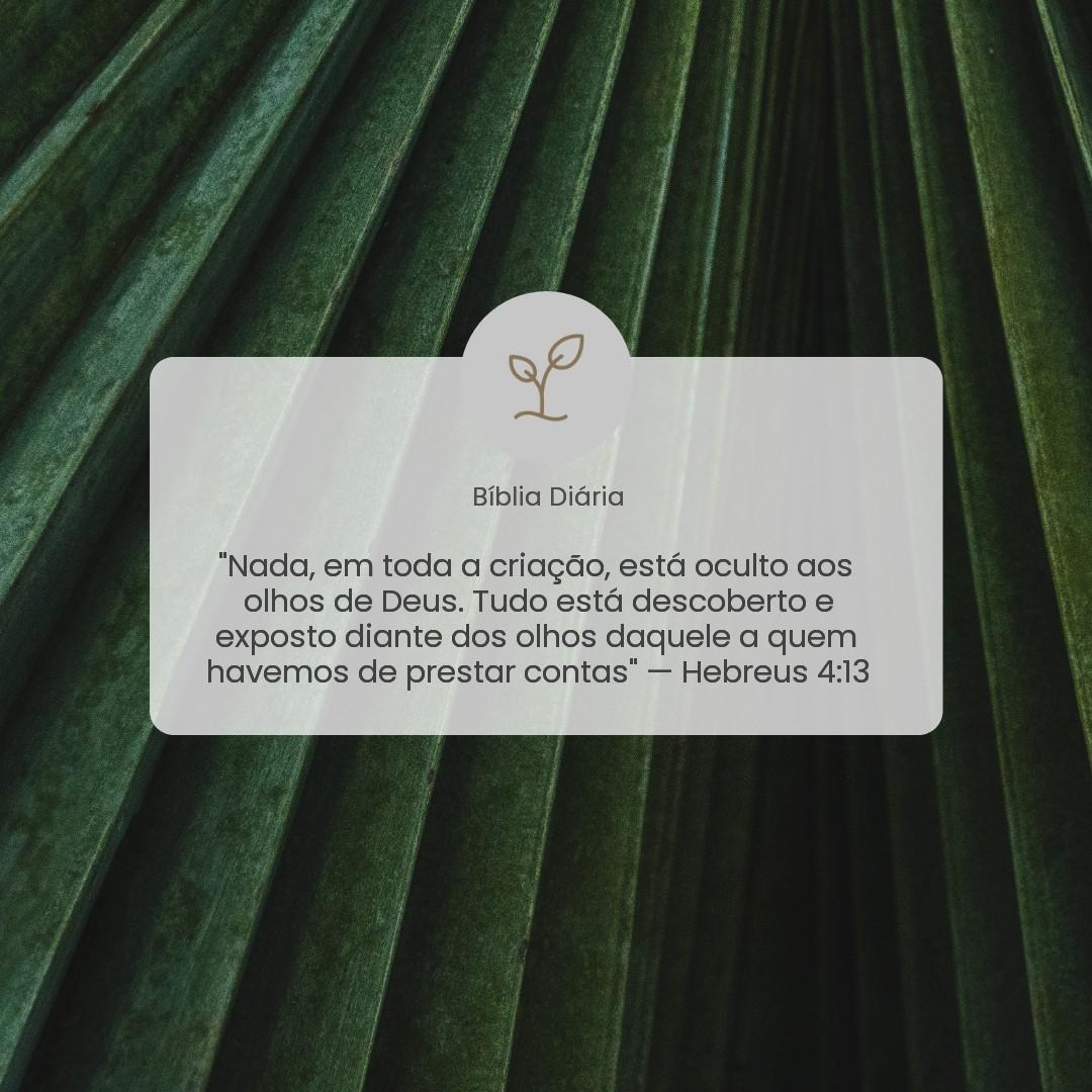 Hebreus 4:13