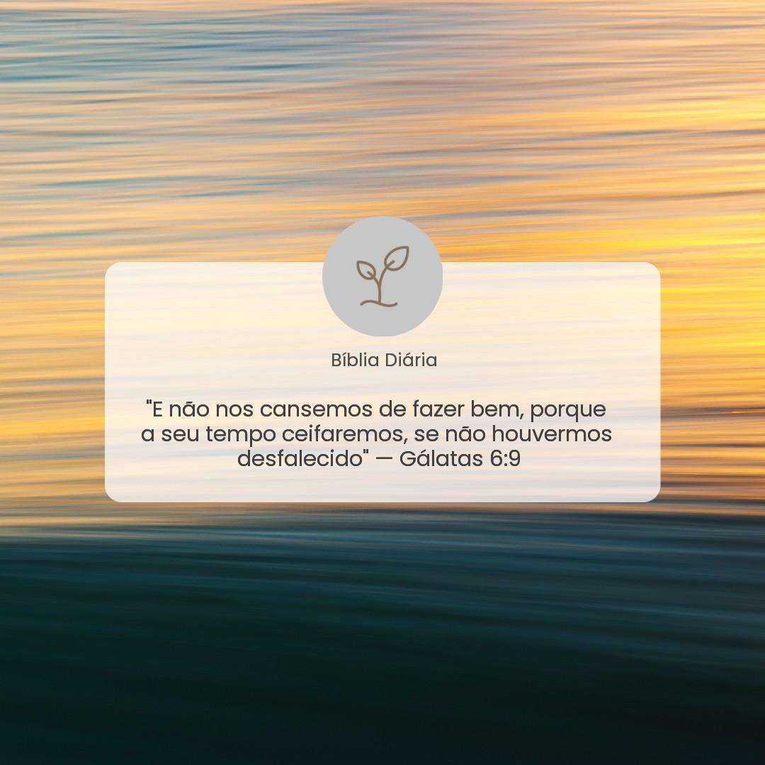 Gálatas 6:9