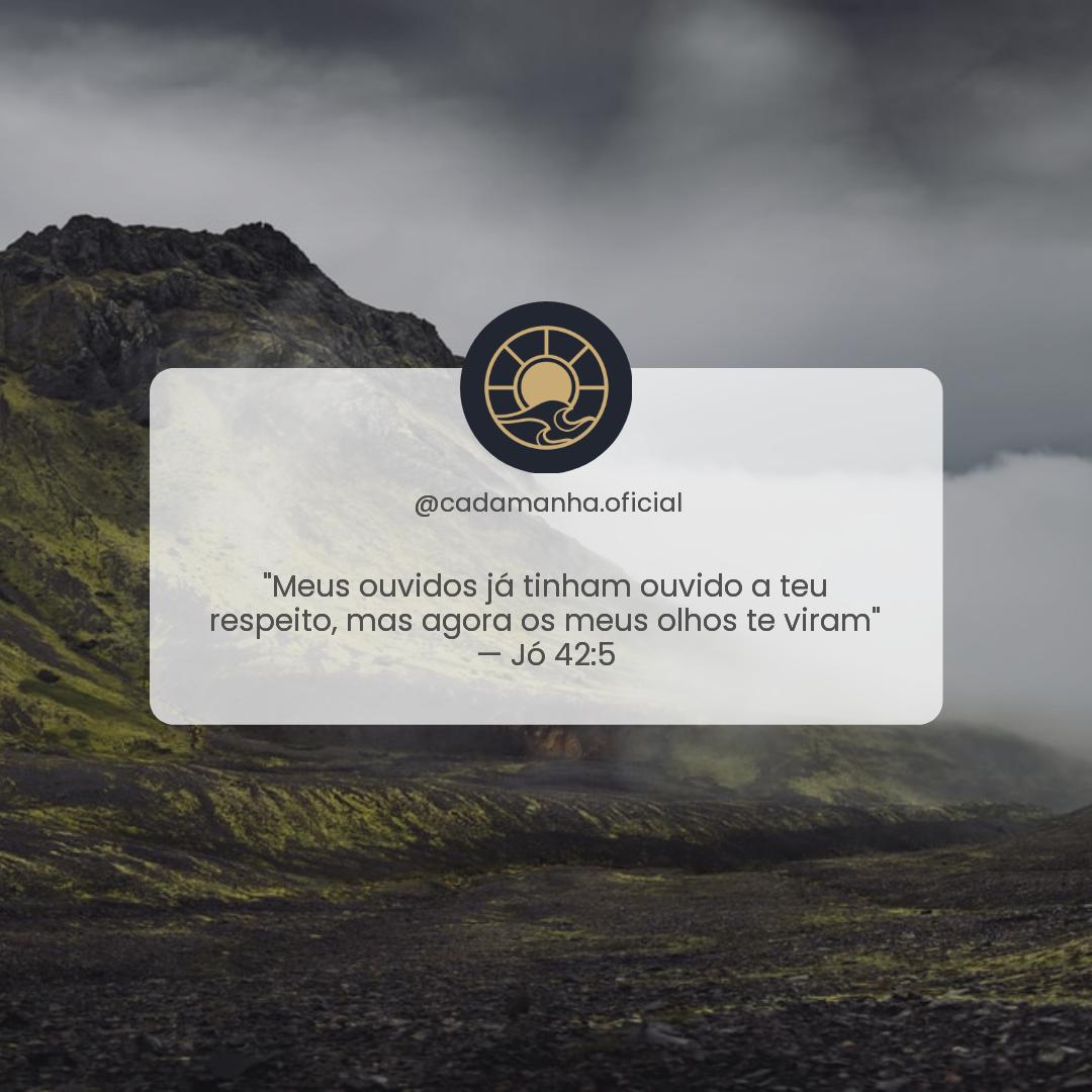Jó 42:5