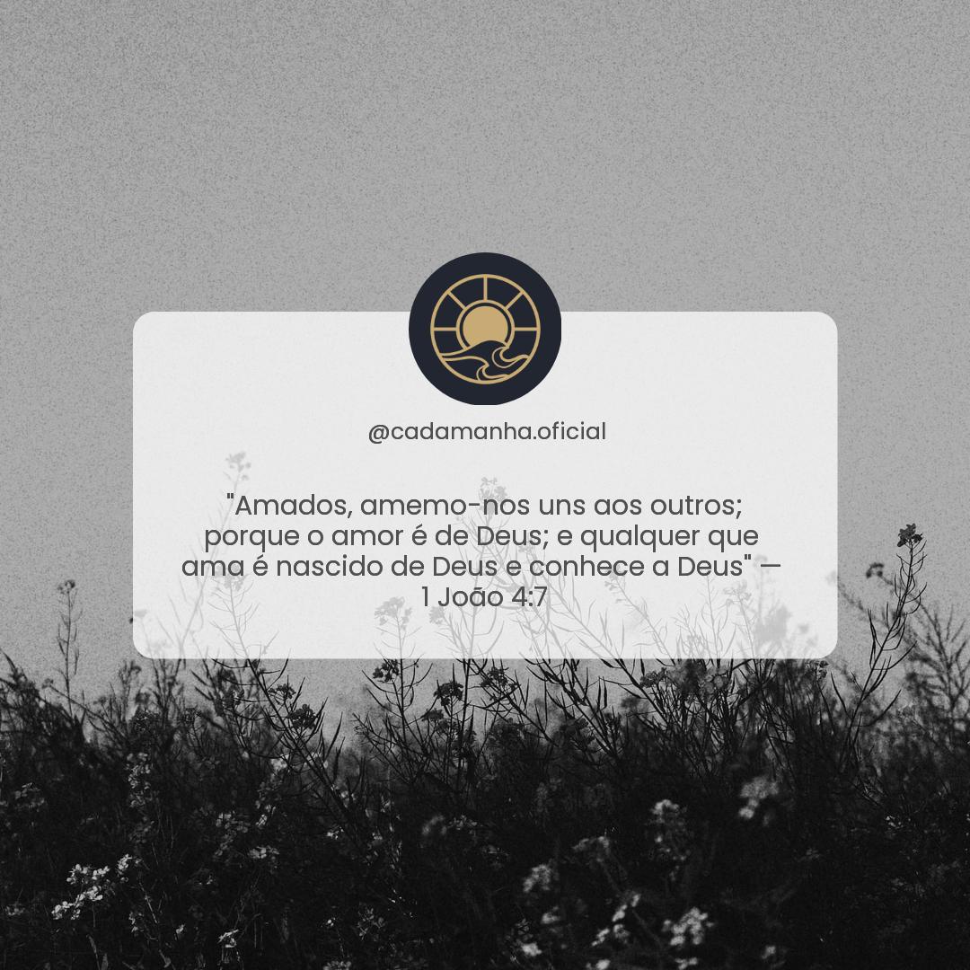 1 João 4:7