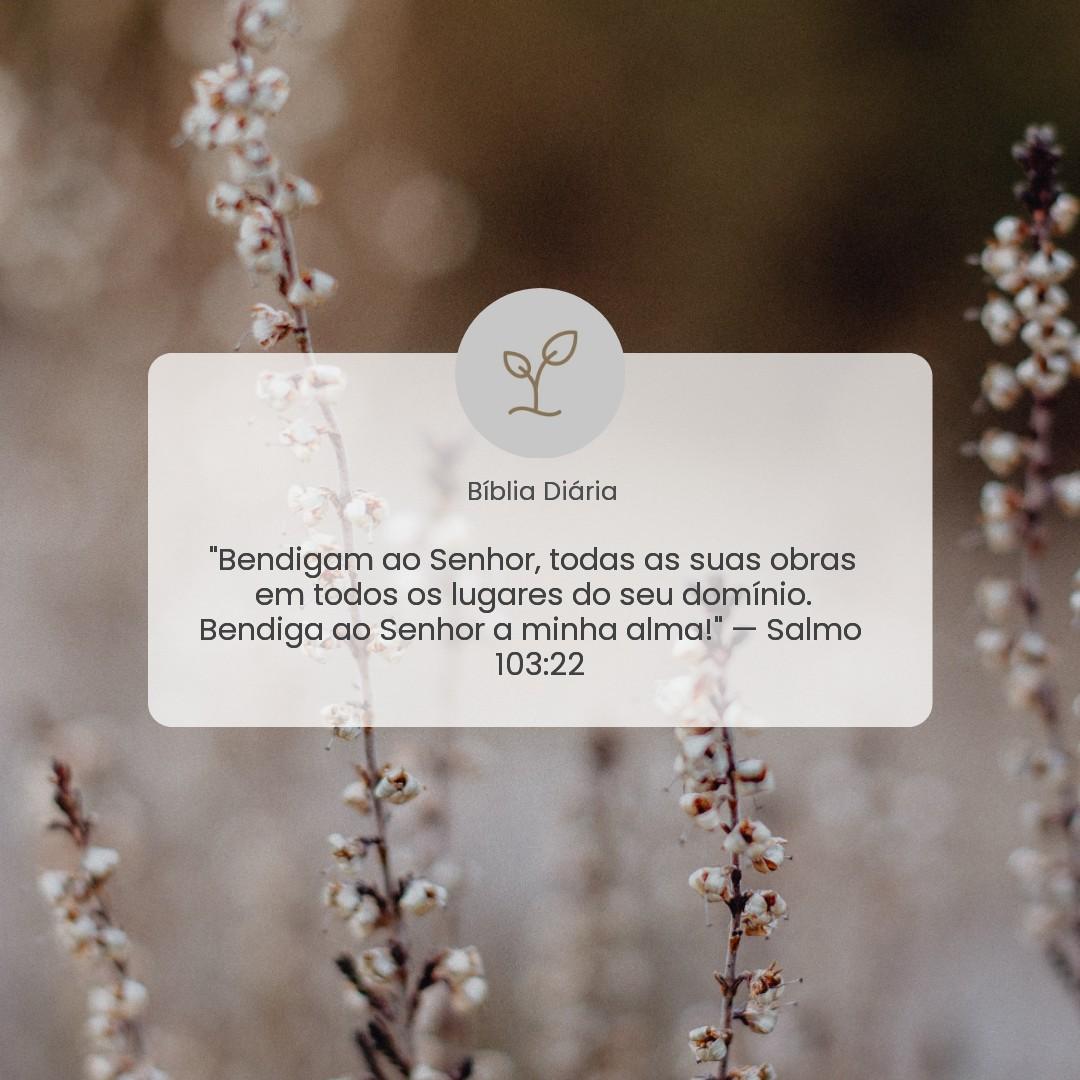 Salmo 103:22