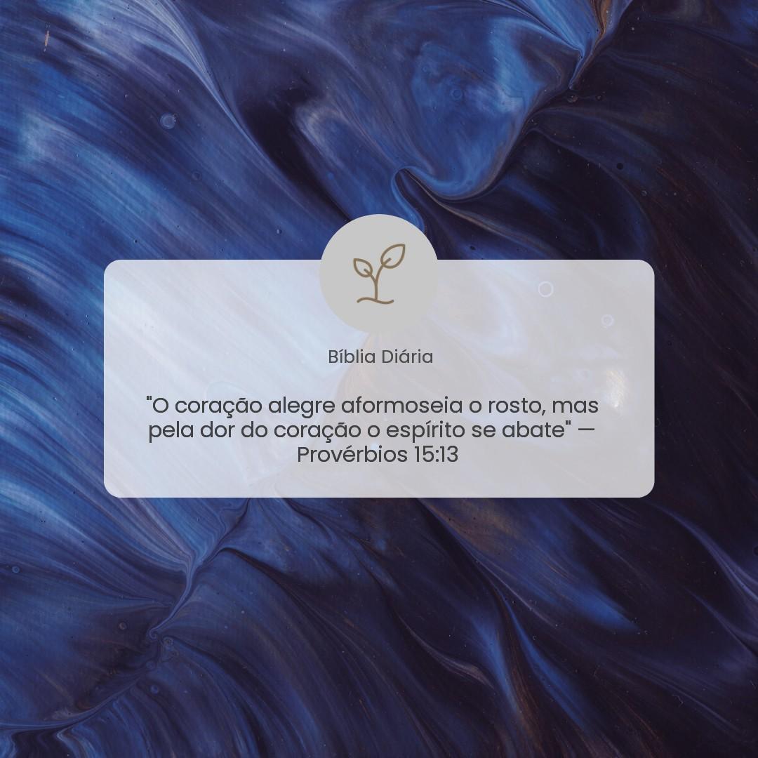 Provérbios 15:13